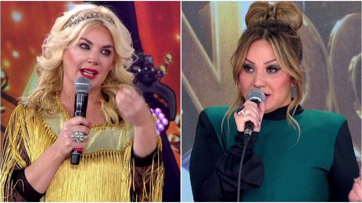 ¡Arde el Cantando! Esmeralda Mitre enfrentó con todo a Karina, la Princesita | Karina, La Princesita, Esmeralda Mitre, Cantando