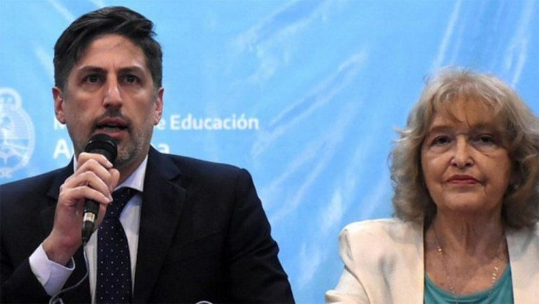 Renunció la viceministra de Educación de la Nación