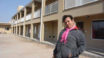 Wanda, la primera habitante de las viviendas para mujeres trans