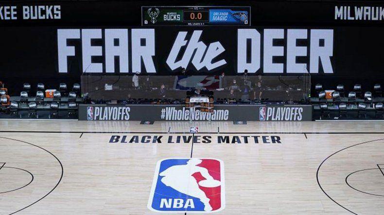 Racismo: equipo de la NBA no se presentó a jugar y peligra la temporada