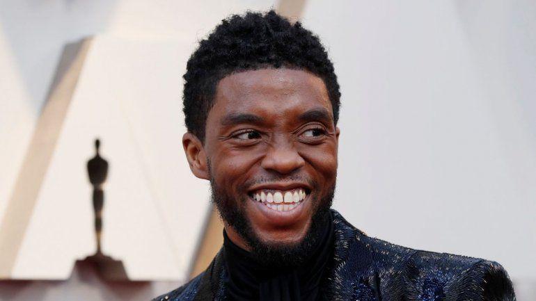 Chadwick Boseman se hizo famoso por su papel de Pantera Negra en las películas de Marvel.
