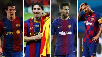 Los avances de la tecnología en 15 años de Messi en el Barsa