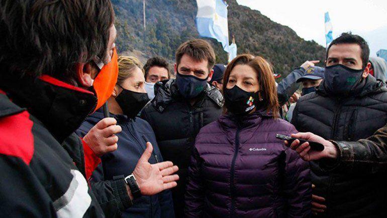 Seguridad denunció a manifestantes que protestaron contra la toma de tierras — Mascardi