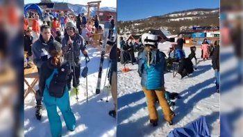 acusaran a esquiadores del cerro chapelco por violar protocolo sanitario