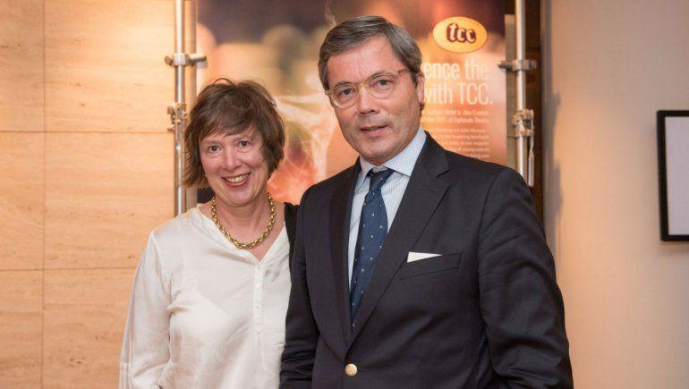 El flamante Embajador alemán en Argentina, Ulrich Sante, invitó a todos a celebrar el aniversario de la reunificación.