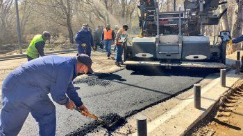 la ciudad sumara 140 cuadras de asfalto este ano