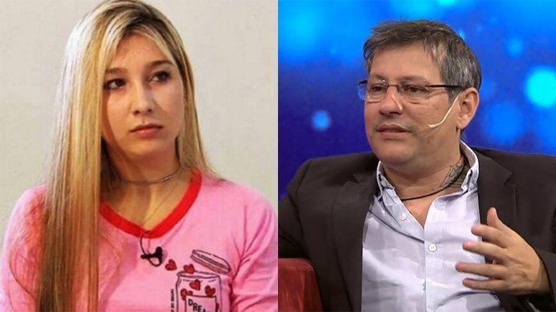 Nahir va contra el psicólogo mediático Gabriel Cartañá