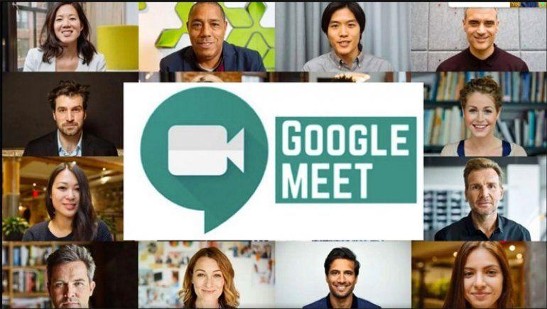 Ahora podes cambiar el fondo en una videollamada de Google Meet