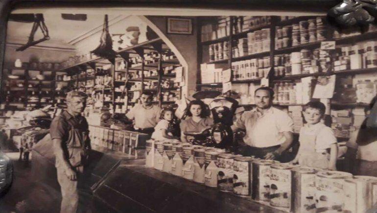 El almacén de ramos generales Fernández Diez, ubicado en la calle San Martín y Cháneton.
