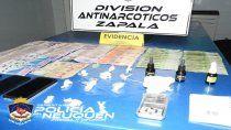 zapala: allanan un kiosco narco e incautan marihuana y $30 mil