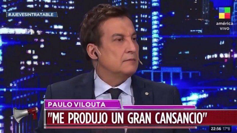 Paulo Vilouta contó su drama con el coronavirus: Te rompe el cuerpo