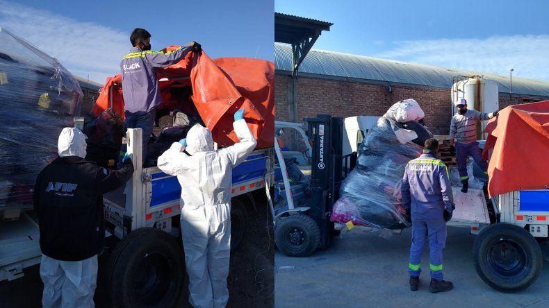 Donarán 18 mil kilos de ropa decomisada a barrios vulnerables