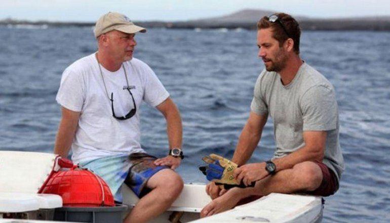 Paul Walker soñaba con dejar la actuación y ser biólogo marino. Lo apasionaba el mar.