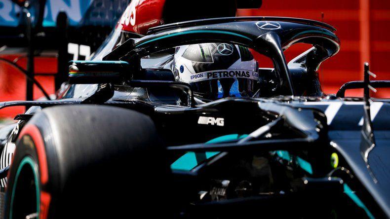 Valtteri Bottas y su Mercedes marcaron el ritmo del inicio de la novena fecha de la temporada de la Fórmula 1