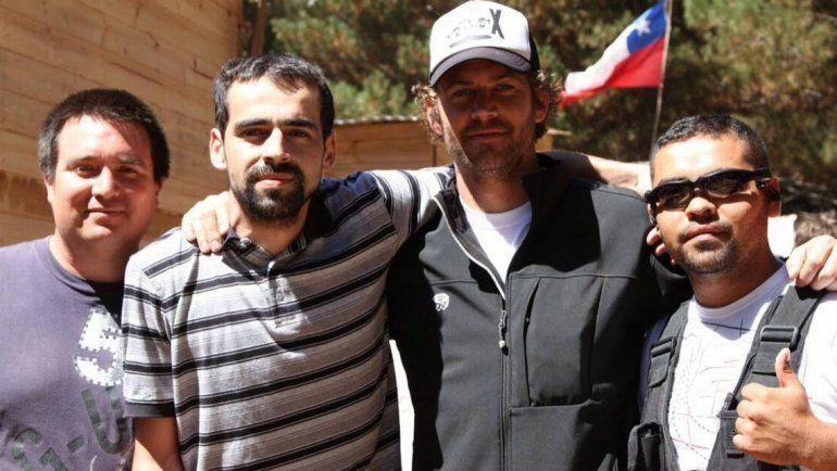 Paul Walker visitó Chile para ayudar a víctimas de terremetos.