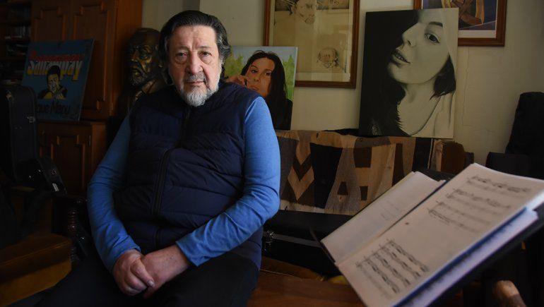 La larga trayectoria de Naldo incluye haber sido el guitarrista de Alfredo Zitarrosa y el discípulo de Atahualpa Yupanqui