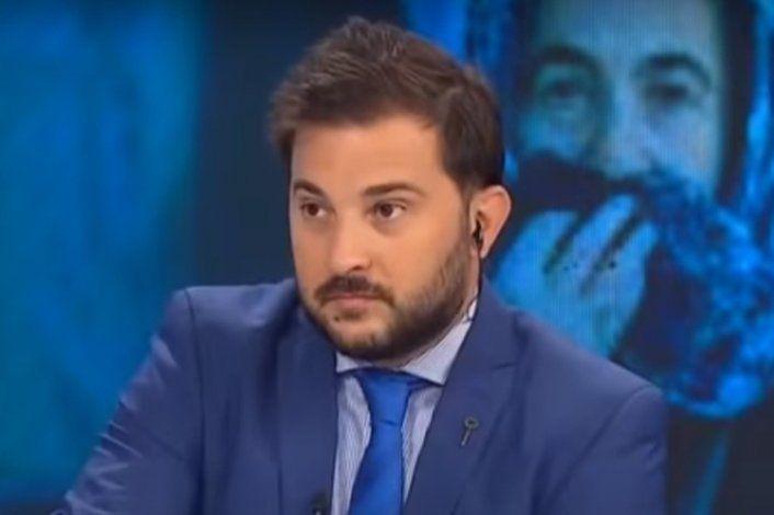 Diego Brancatelli denunció en la Justicia las amenazas que recibió en su teléfono.