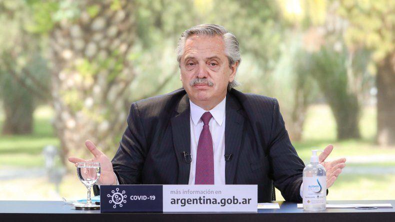 Alberto Fernández: A alguno le duele renunciar a los privilegios