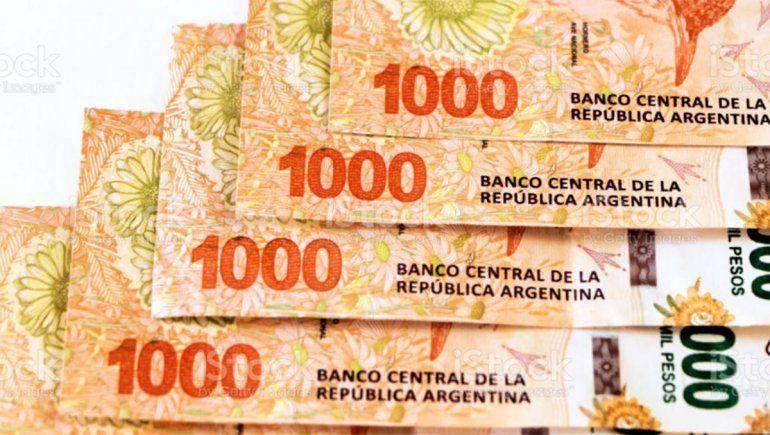 La Argentina importará billetes de $1.000 desde Brasil