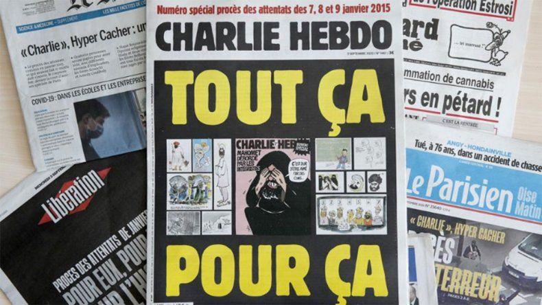 Al Qaeda amenaza nuevamente a la revista francesa Charlie Hebdo