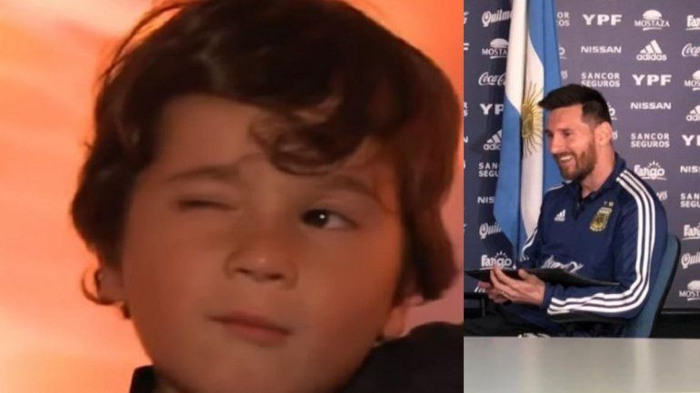 Mateo Messi cumple 5, es tendencia y así reviven sus travesuras