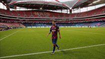 Messi vuelve a jugar en el Barcelona.