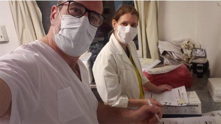 Corradi Diez colabora con el Laboratorio Central de Neuquén