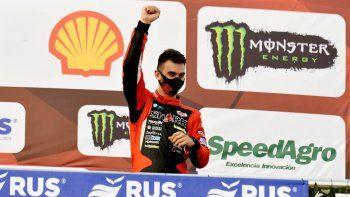 Benvenuti celebra el podio y la punta del TC.