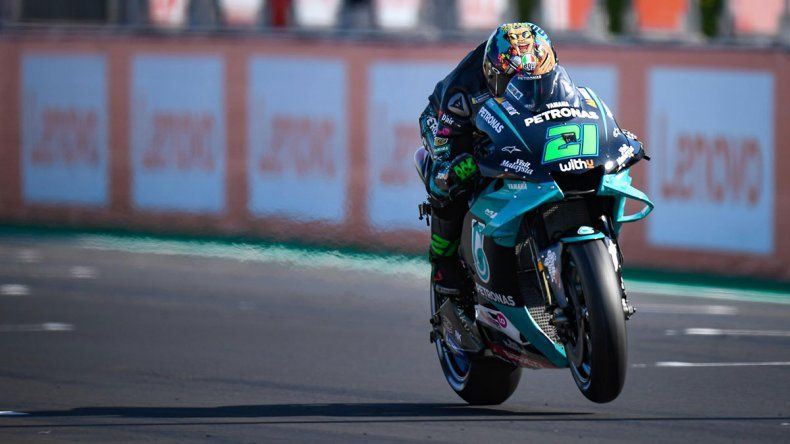 Franco Morbidelli obtuvo su primer triunfo en el Moto GP en Misano y consolidó el gran momento que vive el Petronas Yamaha.