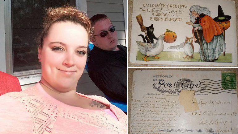 Misterio postal: una mujer recibió una carta de 1920