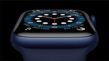 el nuevo apple watch series 6 trae sensor de oxigeno y mucho mas