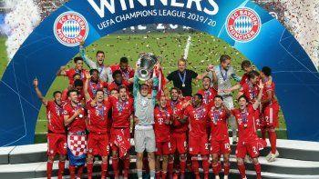 El Bayern, campeón de la Champions lo espera a Sevilla y a Acuña...