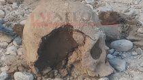 restos hallados, primer rastro arqueologico en la ciudad
