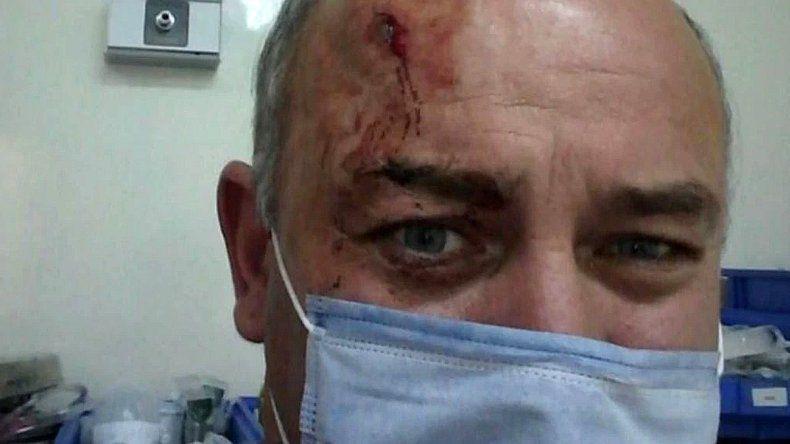 Salvaje robo a un hombre mayor: quedó internado