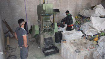La trituradora, el corazón de la planta de reciclaje de plástico.