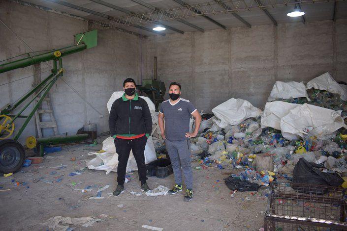 José Luis y Walter Molina, dos de los emprendedores.