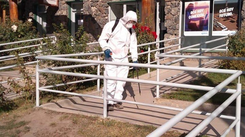 La Angostura reinicia actividades y refuerza desinfecciones