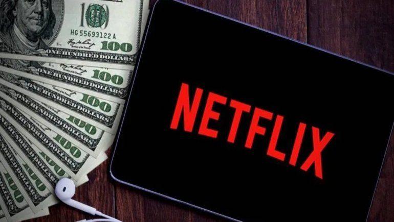 Netflix ya avisó a sus usuarios que les cobrará el nuevo impuesto aunque la factura figure en pesos.