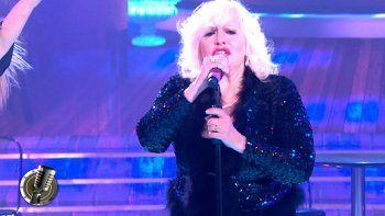 cantando: el debut de luisa albinoni hizo llorar a nacha guevara