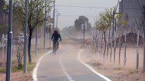 pronostican rafagas de hasta casi 80 km/h hasta el jueves