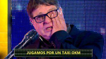 La emoción del taxista que ganó y recordó a su hijo fallecido