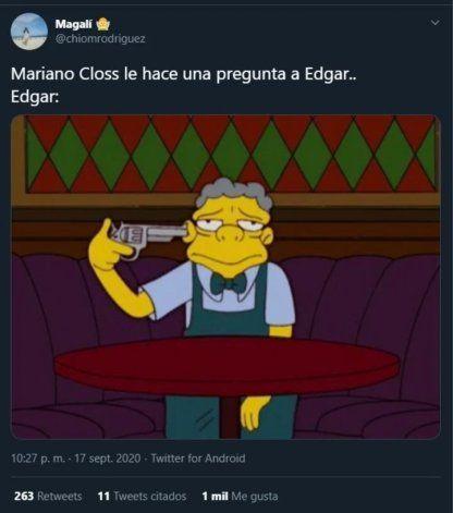 Los memes en referencia a Closs durante el partido de Boca fueron cientos.