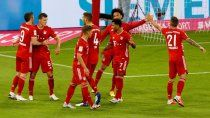 ¡que maquinita! bayern munich goleo 8 a 0 en el debut