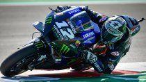 Maverick Viñales consiguió su segunda pole position en Misano al dominar la clasificación del Gran Premio de Emilia Romagna de Moto GP.