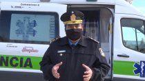 lapolicia de neuquen tiene una ambulancia exclusiva para hisopados