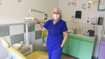 Cristina, la odontóloga que trabaja por la inclusión