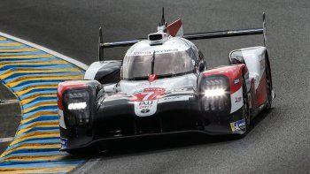 José María López y sus compañeros Kamui Kobyashi y Mike Conway finalizaron tercero en las 24 Horas de Le Mans.