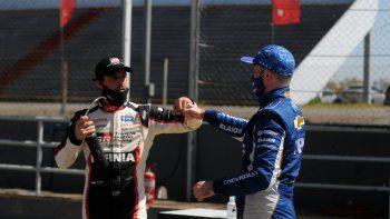 Agustín Canapino le escribió un mensaje a Matías Rossi en sus redes luego del espectacular final del Súper TC2000 en Buenos Aires.