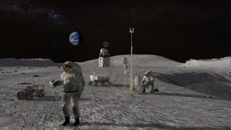 La NASA planea volver a la Luna luego de 55 años.