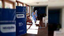 habilitaron un hogar para adultos mayores con coronavirus